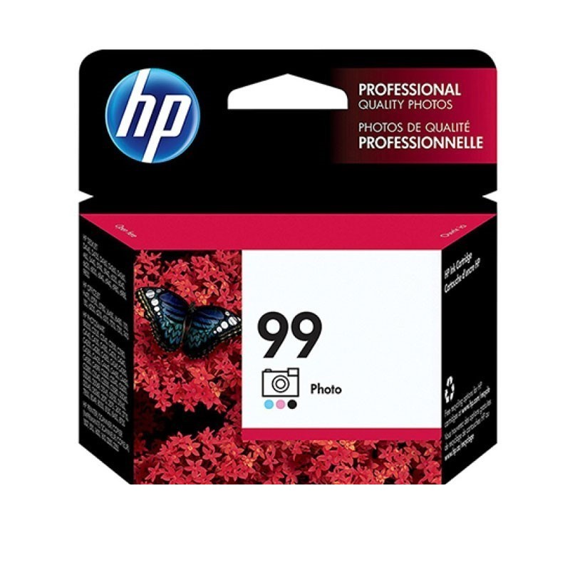 HP - 99 AP Tricolor Photo Print Cartridge [C9369WA]