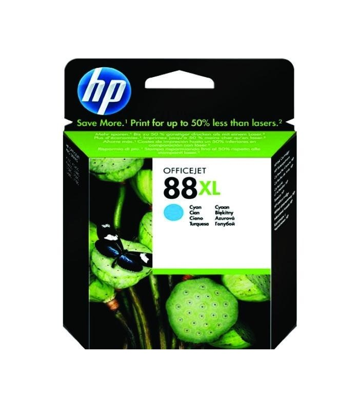 HP - 88 Large Cyan Ink Cartridge [C9391A]