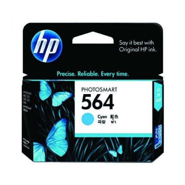 HP - 564 Cyan Ink Cartridge [CB318WA]