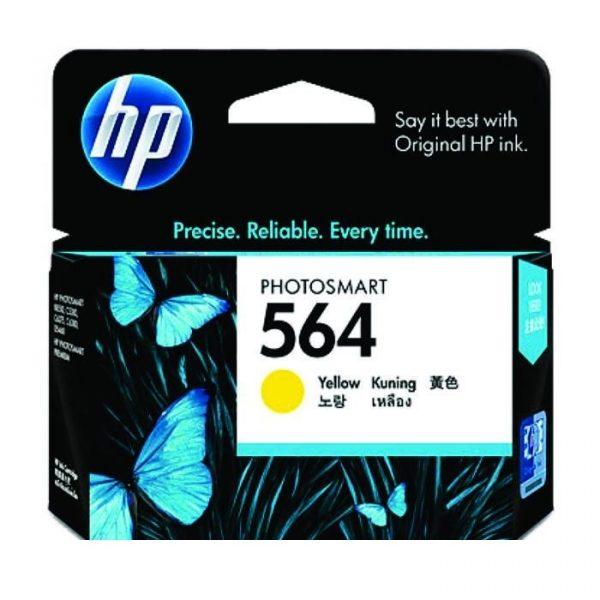 HP - 564 Yellow Ink Cartridge [CB320WA]