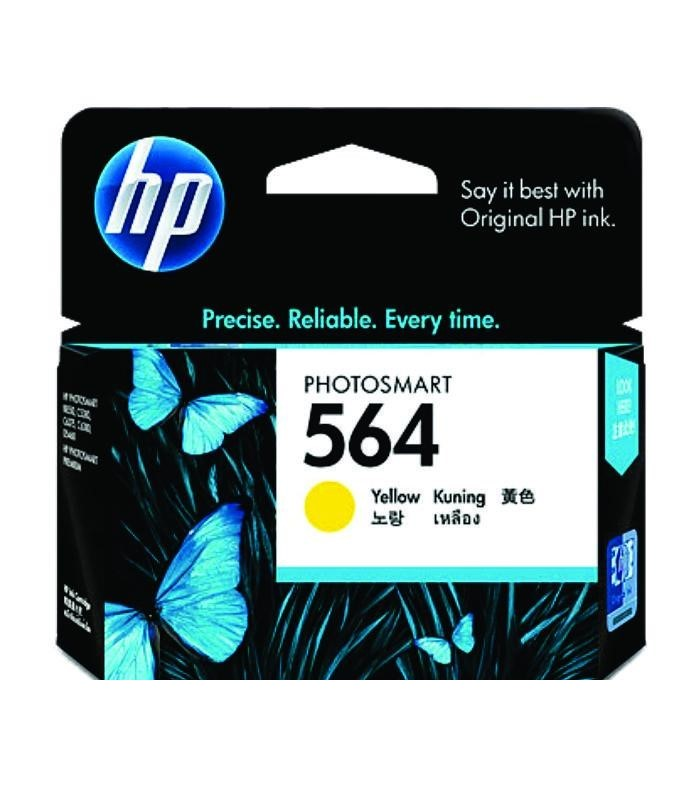 HP - 564 Yellow Ink Cartridge [CB320WA]