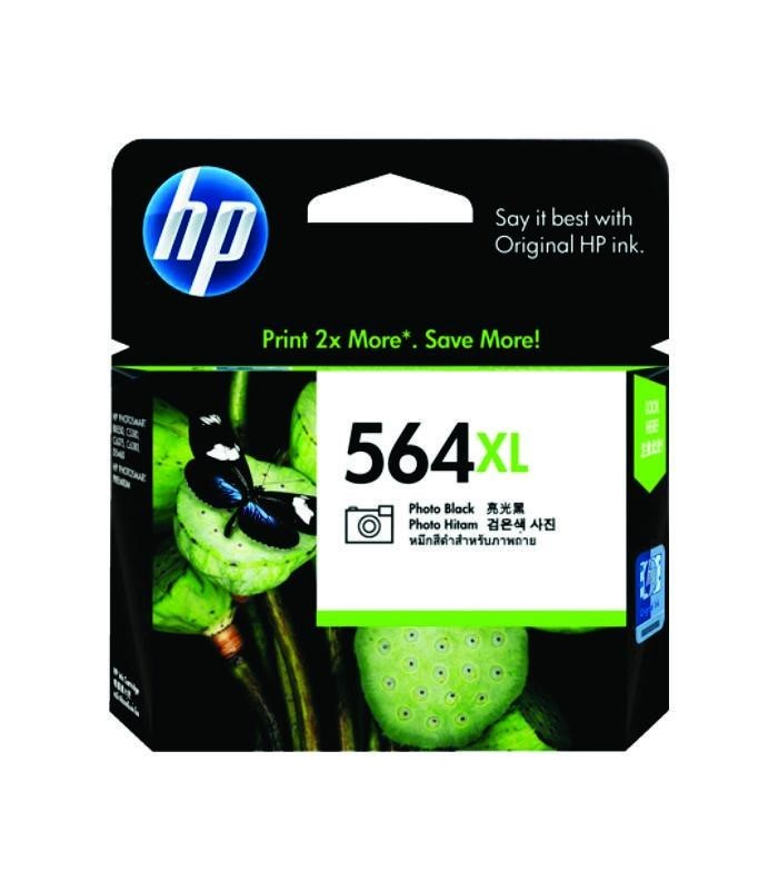 HP - 564xl Photo Black Ink Cartridge [CB322WA]