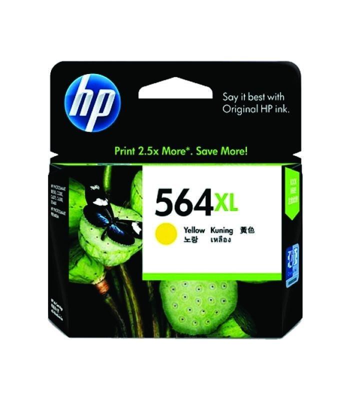 HP - 564xl Yellow Ink Cartridge [CB325WA]