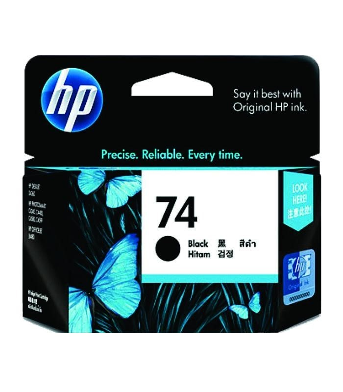 HP - 74 Black Inkjet Print Cartridge [CB335WA]