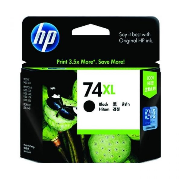 HP - 74XL Black Inkjet Print Cartridge [CB336WA]