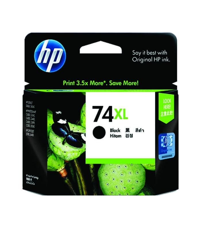 HP - 74XL Black Inkjet Print Cartridge [CB336WA]
