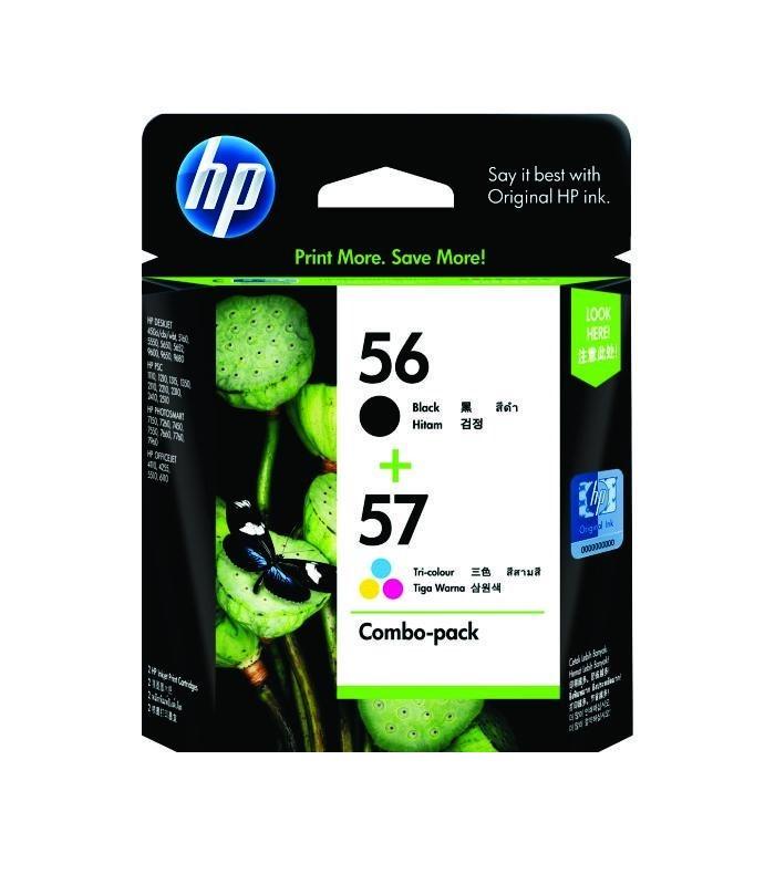 HP - 56/57 Combo Pack Ink Cartridge [CC629AA]