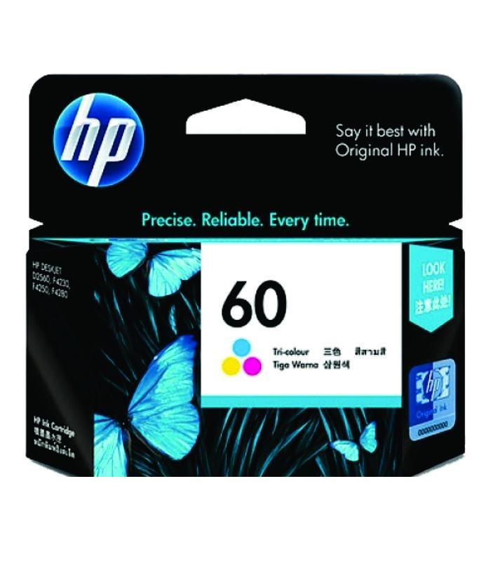 HP - 60 Tri-color Ink Cartridge [CC643WA]