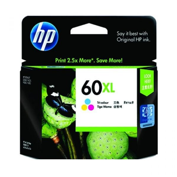 HP - 60xl Tri-color Ink Cartridge [CC644WA]