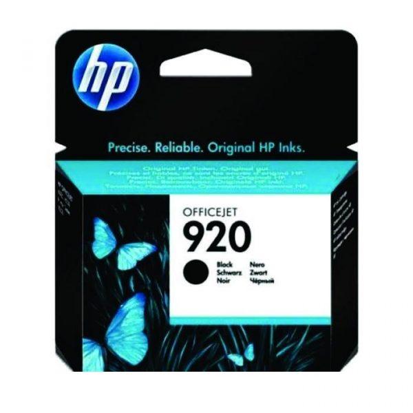 HP - 920 Black Officejet Ink Cartridge [CD971AA]