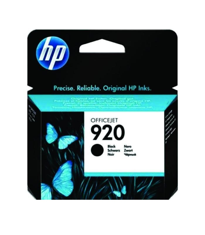 HP - 920 Black Officejet Ink Cartridge [CD971AA]