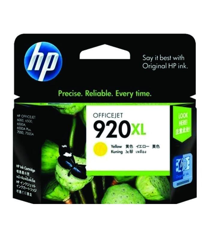 HP - 920XL Yellow Officejet Ink Cartridge [CD974AA]