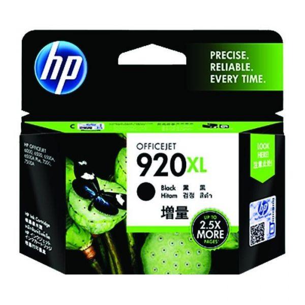 HP - 920XL Black Officejet Ink Cartridge [CD975AA]