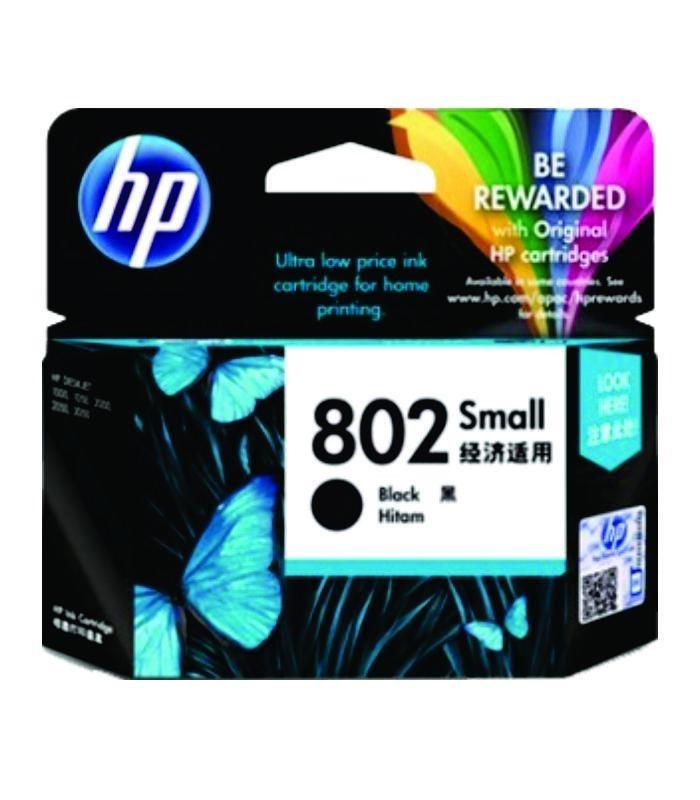 HP - 802 Small Black Ink Cartridge [CH561ZZ]