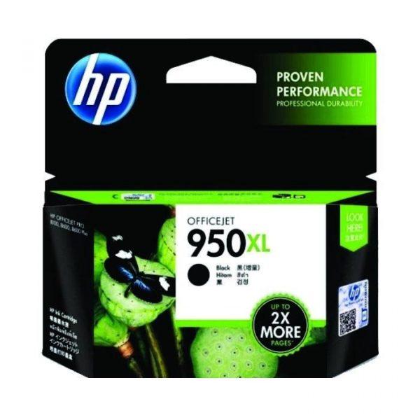 HP - 950XL Black Officejet Ink Cartridge [CN045AA]