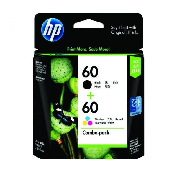 HP - 60 Print Cartridge Combo Pack [CN067AA]
