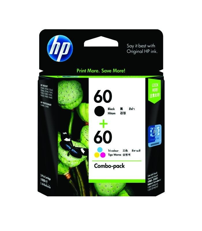 HP - 60 Print Cartridge Combo Pack [CN067AA]
