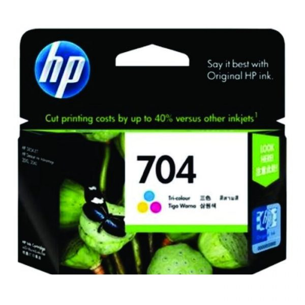HP - 704 Tri-color Ink Cartridge [CN693AA]